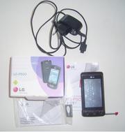 Сотовый сенсорный телефон LG КР 500